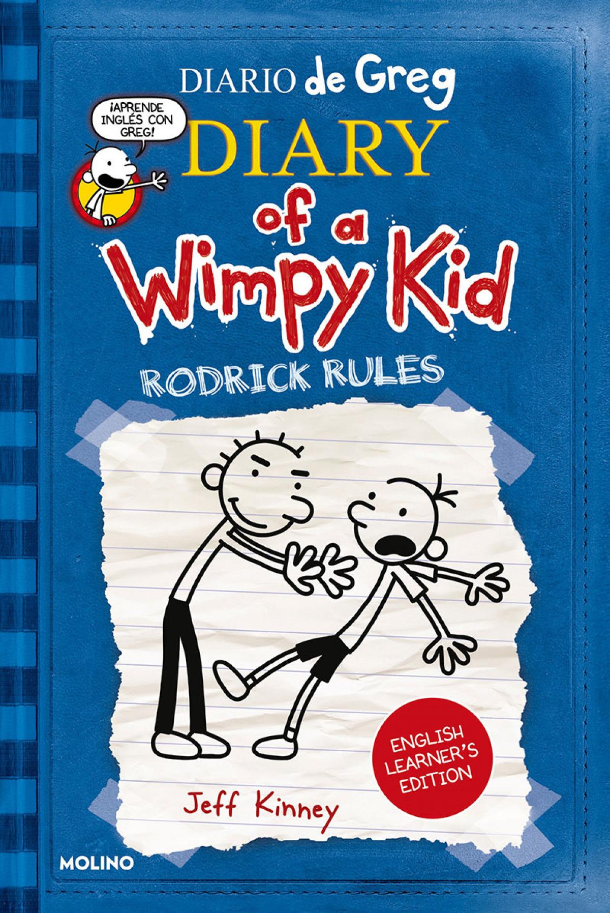 Diario de Greg 2. English Learner's Edition. Rodrick rules
