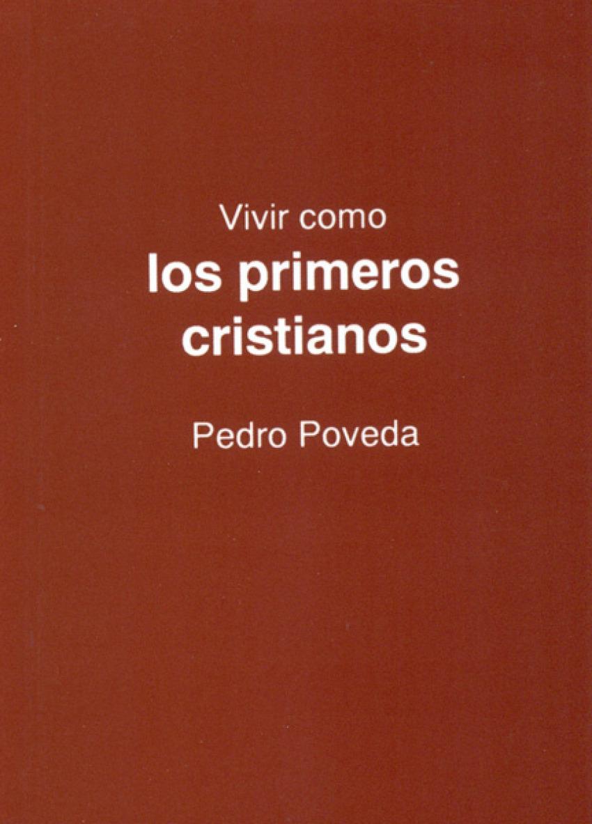 VIVIR PRIMEROS CRISTIANOS