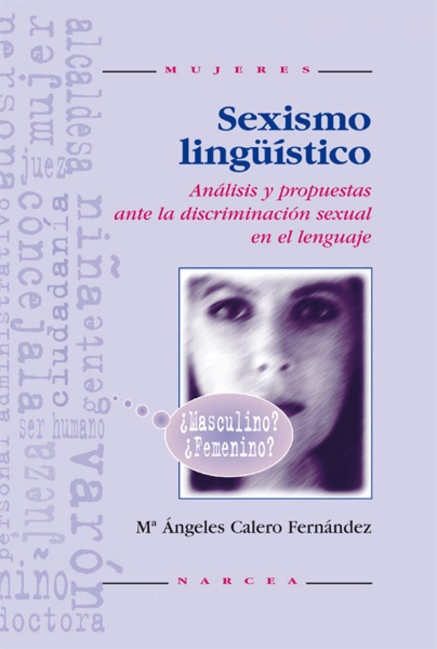 SEXISMO LINGUISTICO