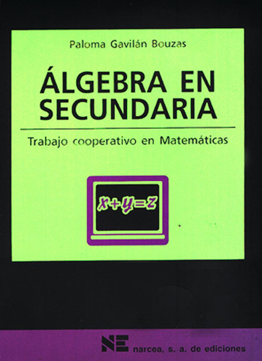 ALGEBRA EN SECUNDARIA