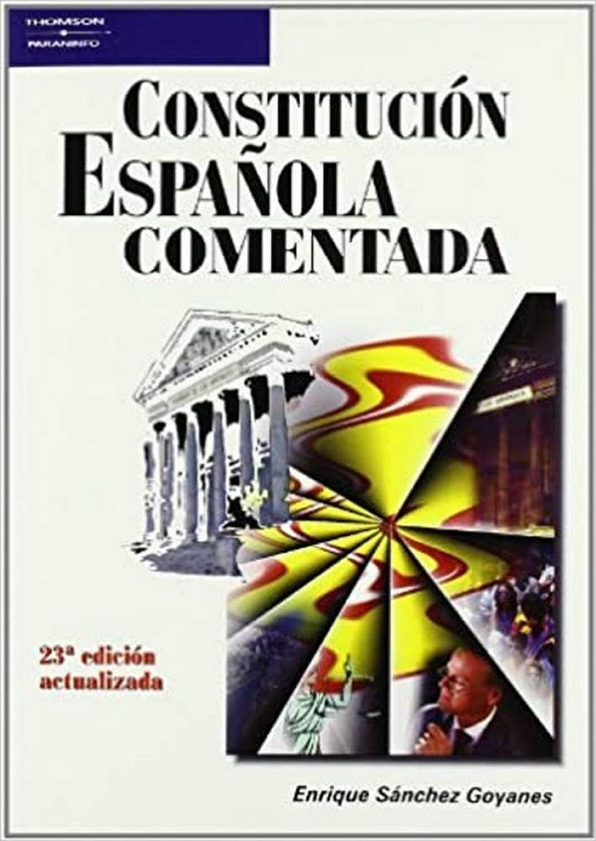 Constitución española comentada, 26a. edición
