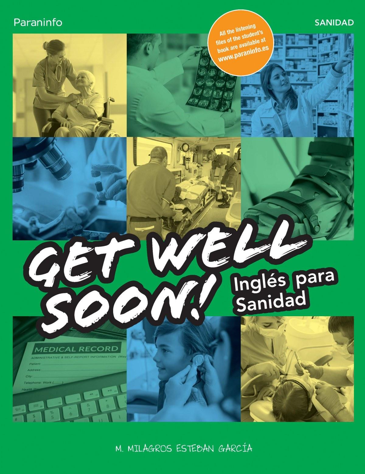 Get Well Soon! Inglés para sanidad