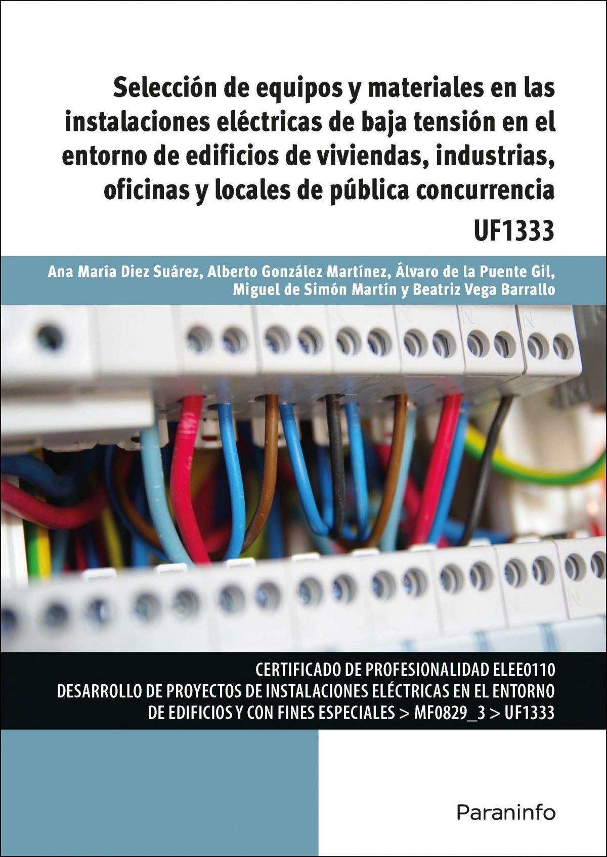 SELECCION DE EQUIPOS Y MATERIALES INSTALACIONE ELECTRICAS