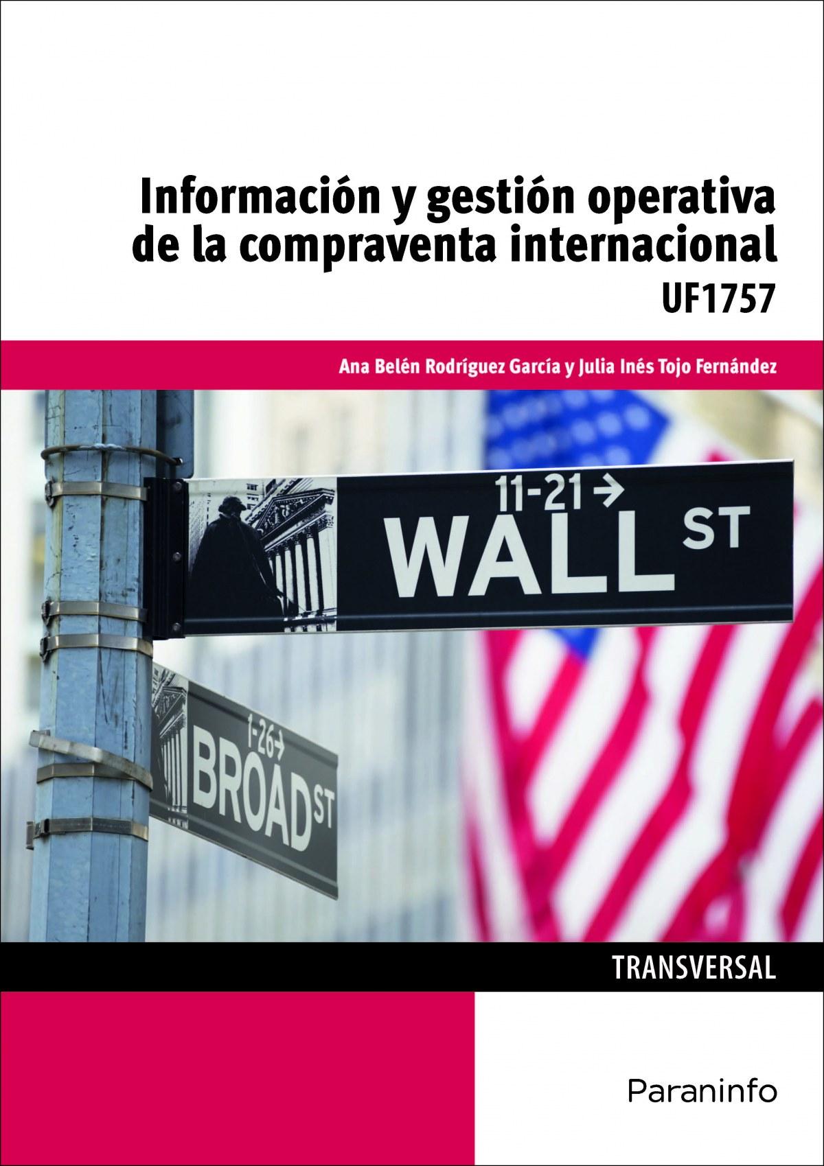 INFORMACION Y GESTION OPERATIVA DE COMPRAVENTA INTERNACIONA