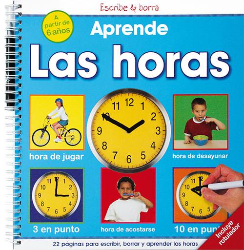 Aprende las horas 9788428535465