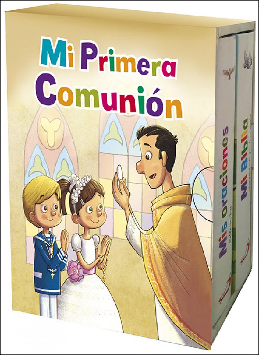 MI PRIMERA COMUNIËN (PACK) 9788428554756