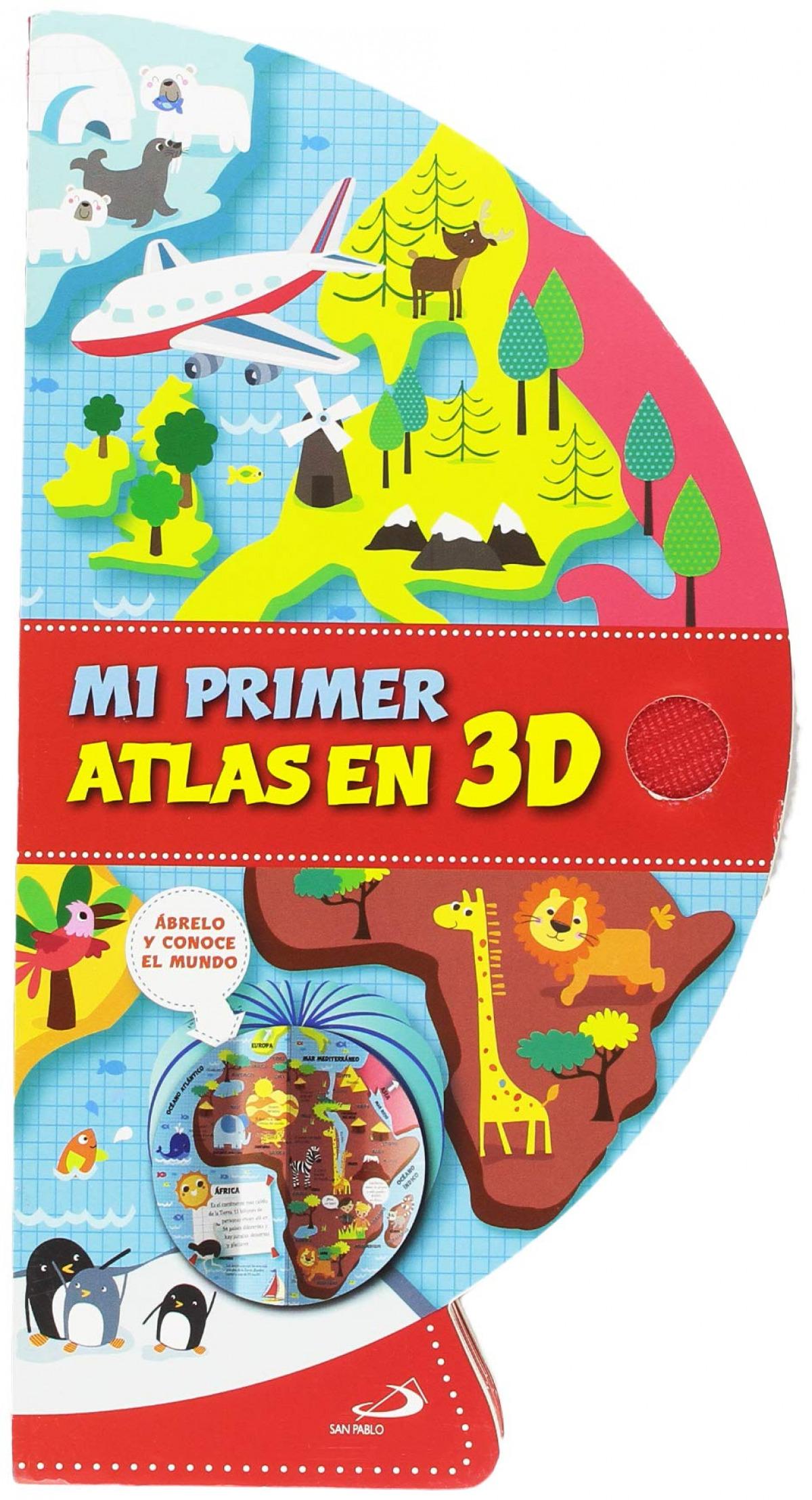 MI PRIMER ATLAS EN 3D 9788428555067