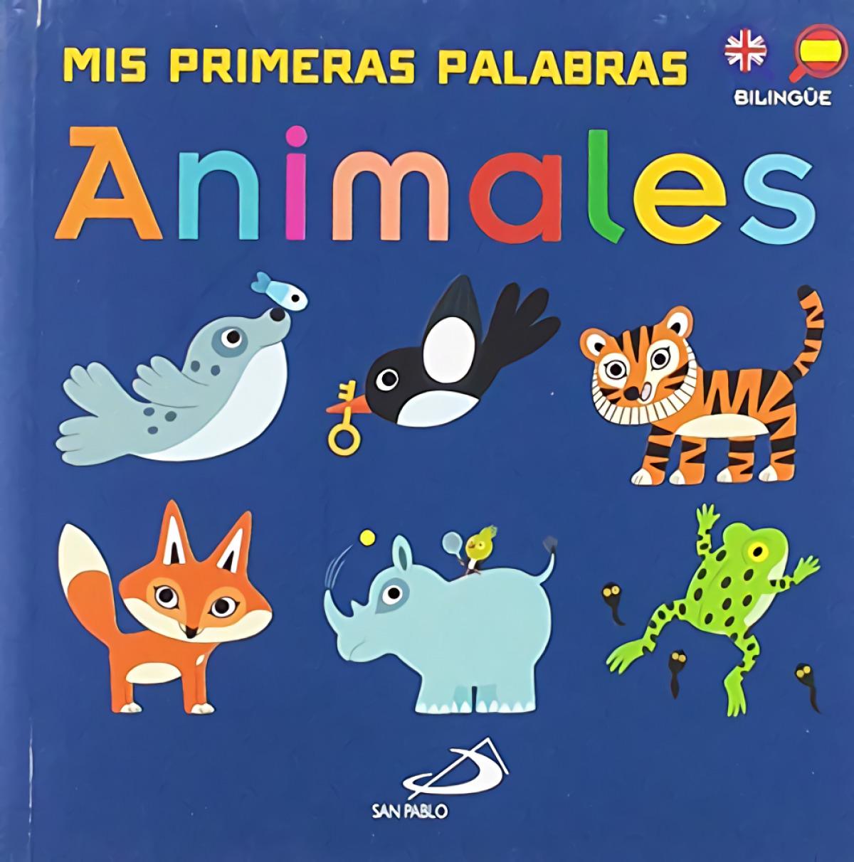 ANIMALES. (BILINGÜE ESP-ING) 9788428555722
