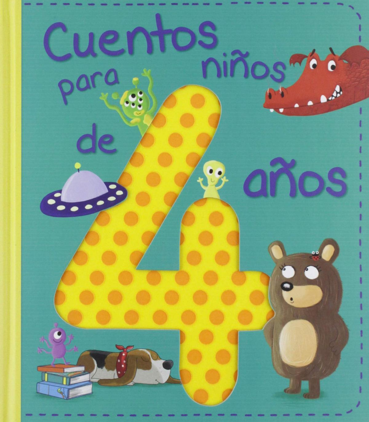 CUENTOS PARA NIñOS DE 4 AñOS 9788428556231