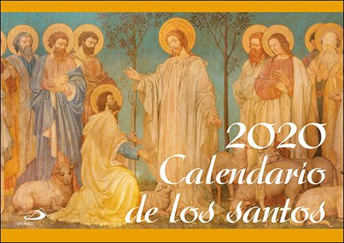 Calendario Zaragozano 2020.Calendario Pared De Los Santos 2020 Libreria Sar