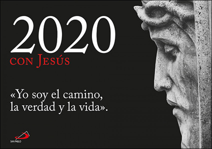 Calendario Zaragozano 2020.Calendario Pared 2020 Con Jesus Libreria Casa Ostiz