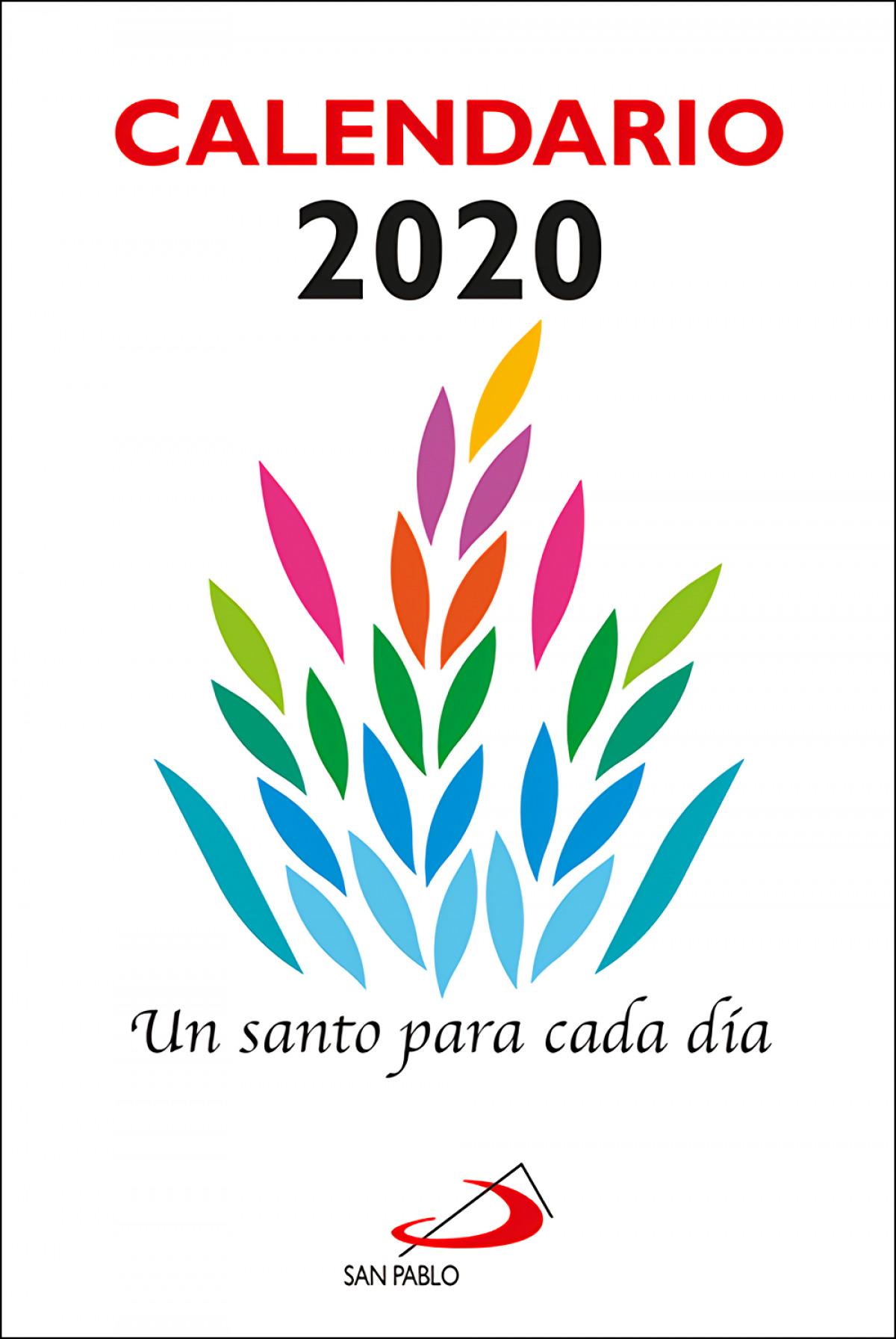 CALENDARIO UN SANTO PARA CADA D-A 2020 9788428557108