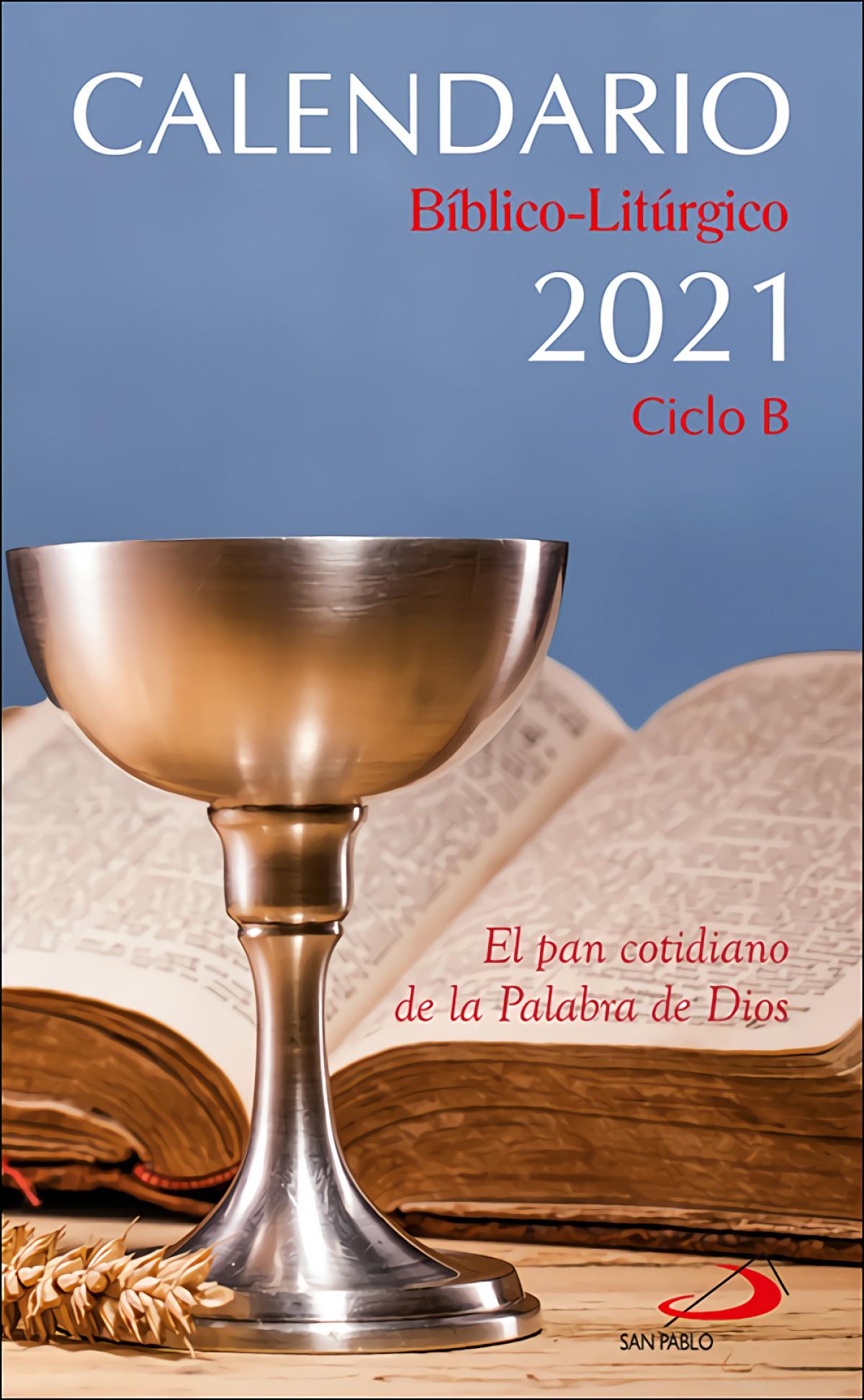 Calendario bíblico-litúrgico 2021 - Ciclo B