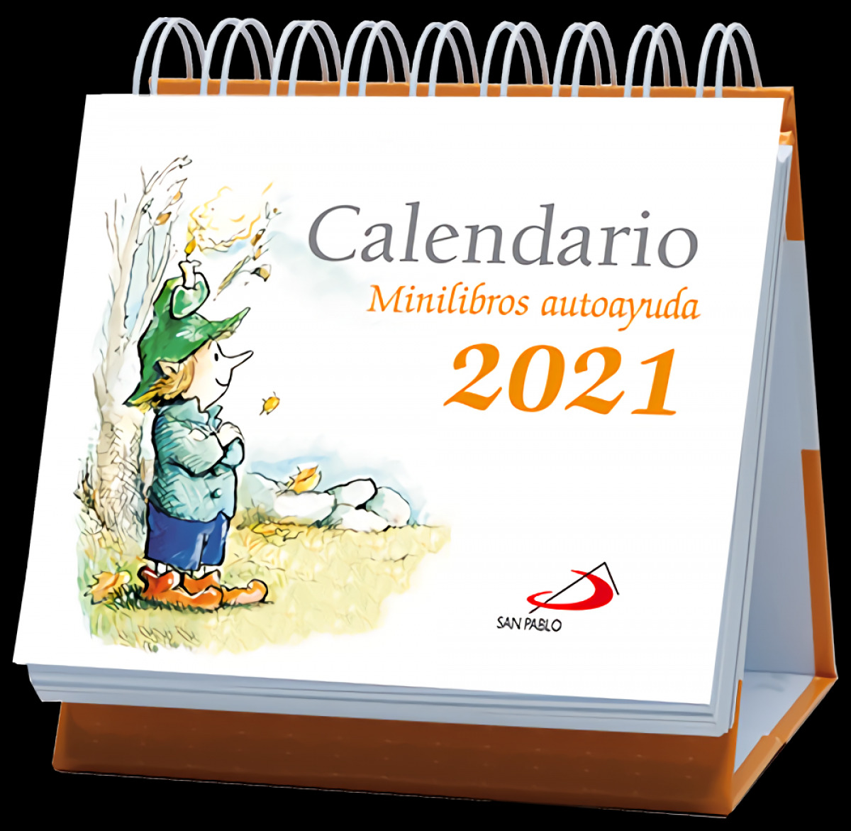 Calendario de mesa Minilibros autoayuda 2021