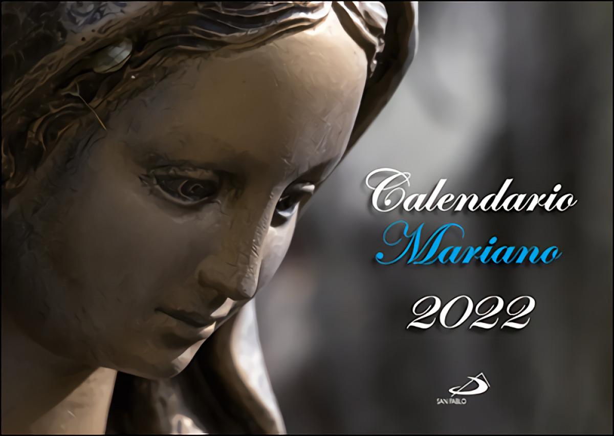Calendario de pared mariano 2022