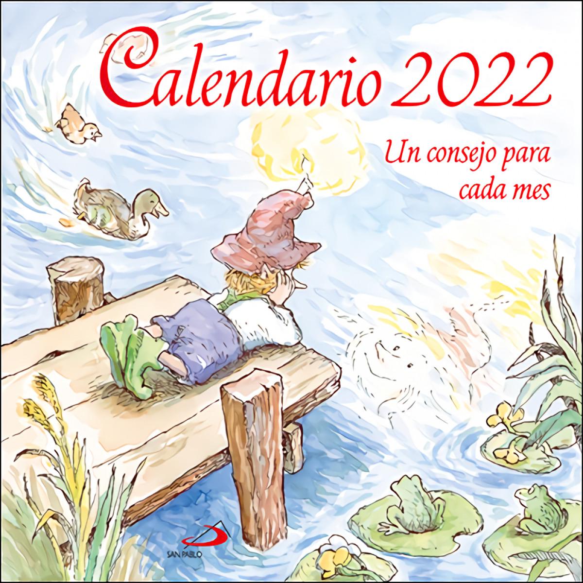 Calendario de pared Un consejo para cada mes 2022