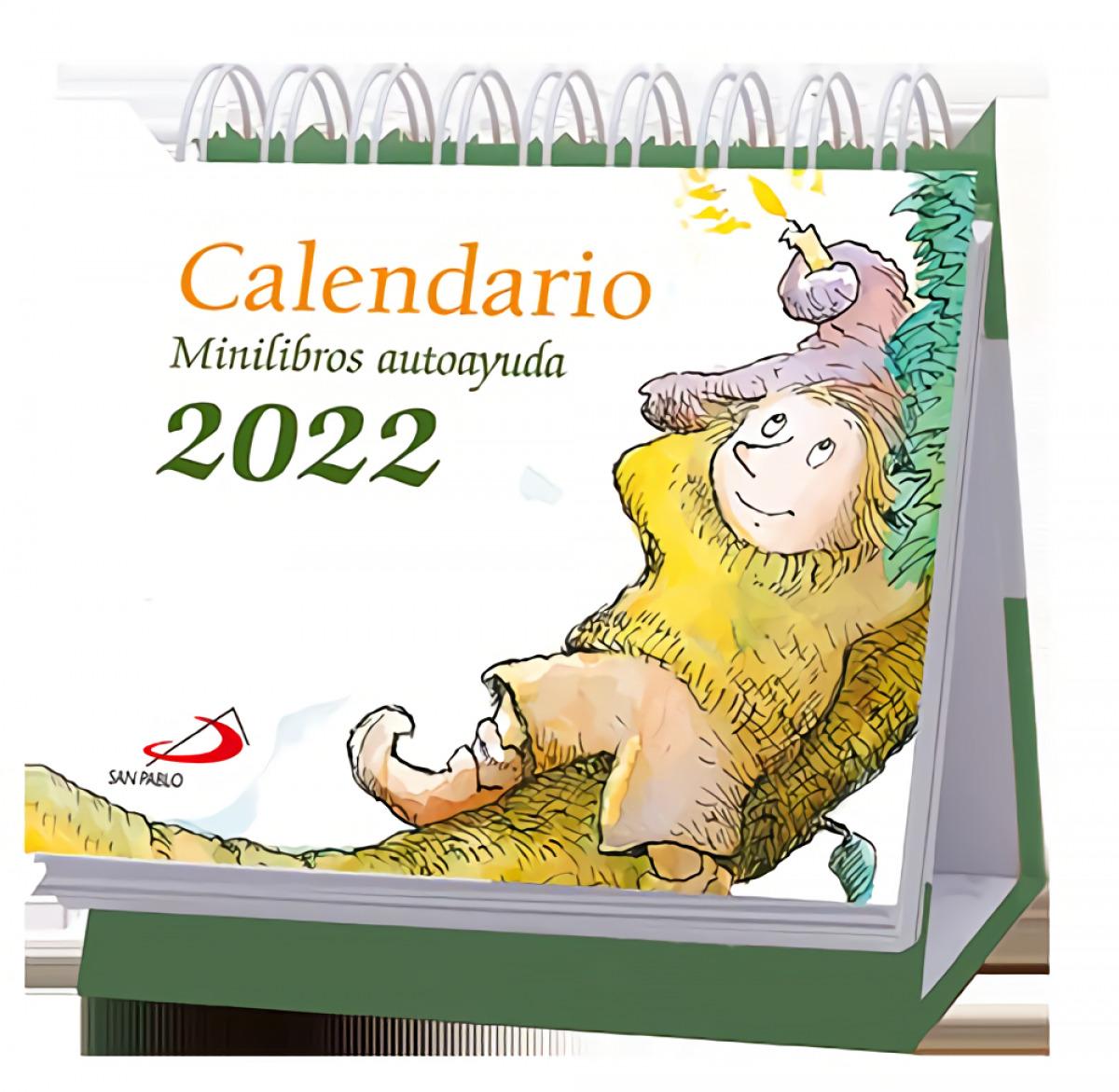 Calendario de mesa Minilibros autoayuda 2022