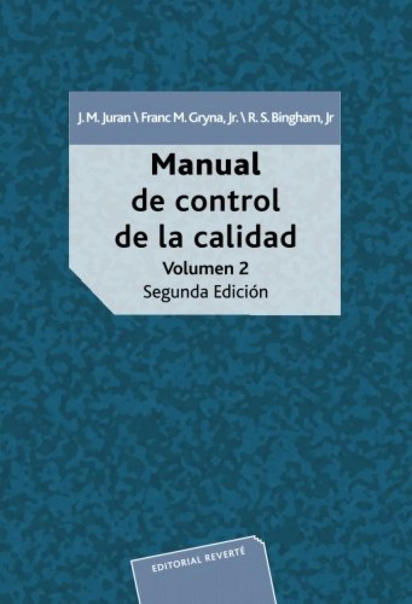 Manual de control de la calidad