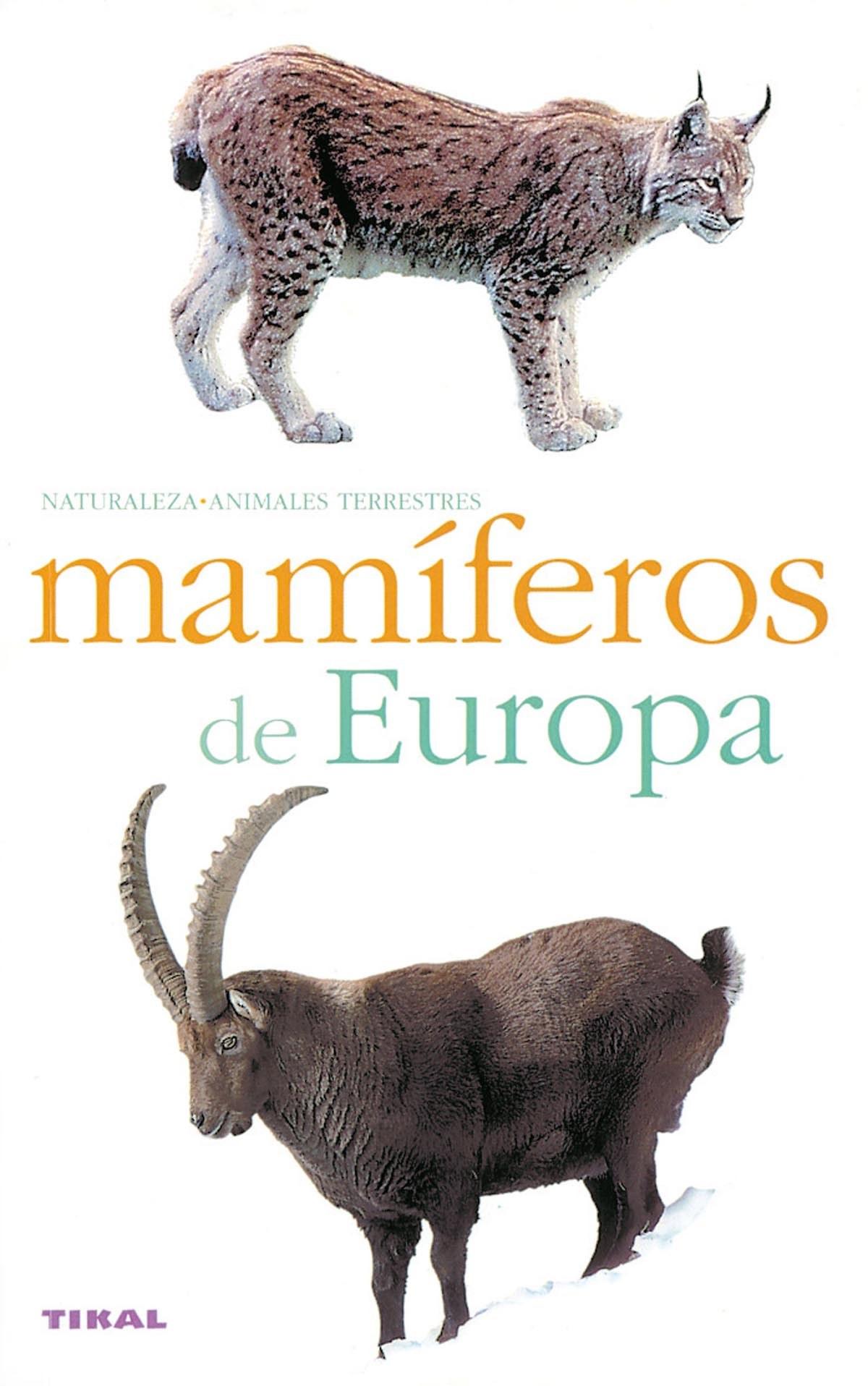 Mamíferos de Europa 9788430546473