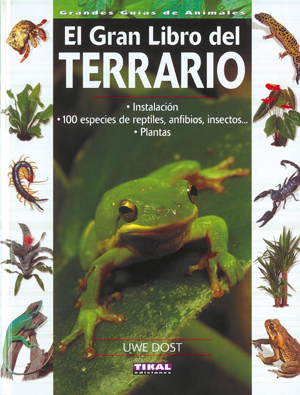 El gran libro del terrario 9788430565405