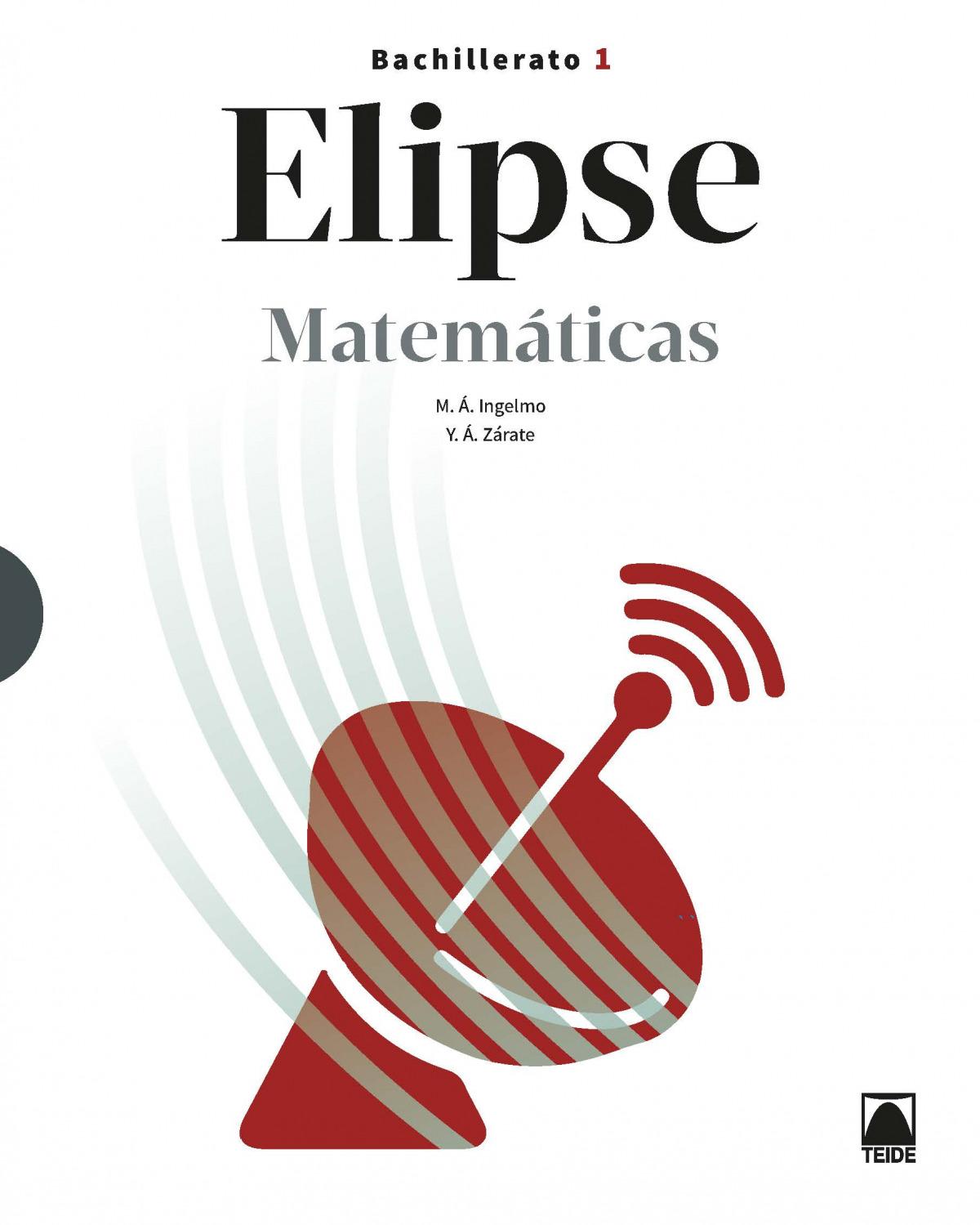 Elipse. Matemáticas 1 Bachillerato