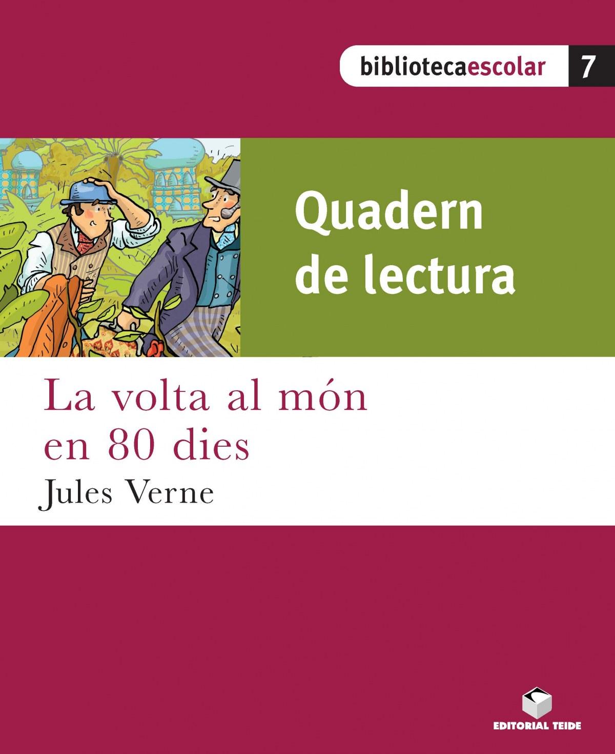 QUADERN VOLTA AL MON EN 80 DIES