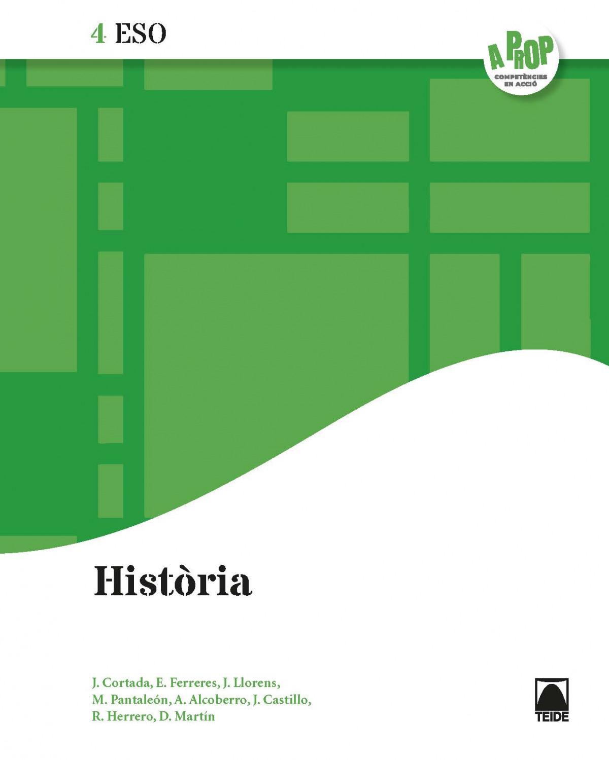 Història 4 ESO - A prop