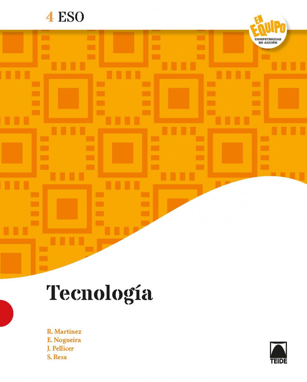 Tecnología 4º ESO - En equipo