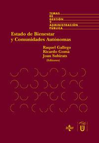 Estado de bienestar y comunidades autónomas