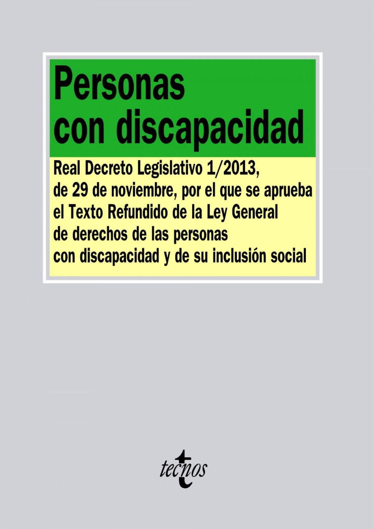 Personas con discapacidad 9788430961566