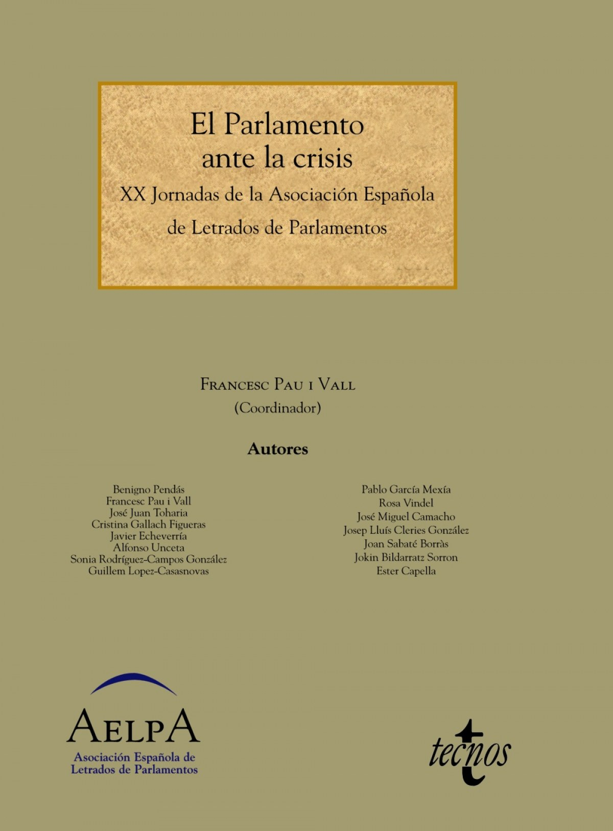 El parlamento ante la crisis