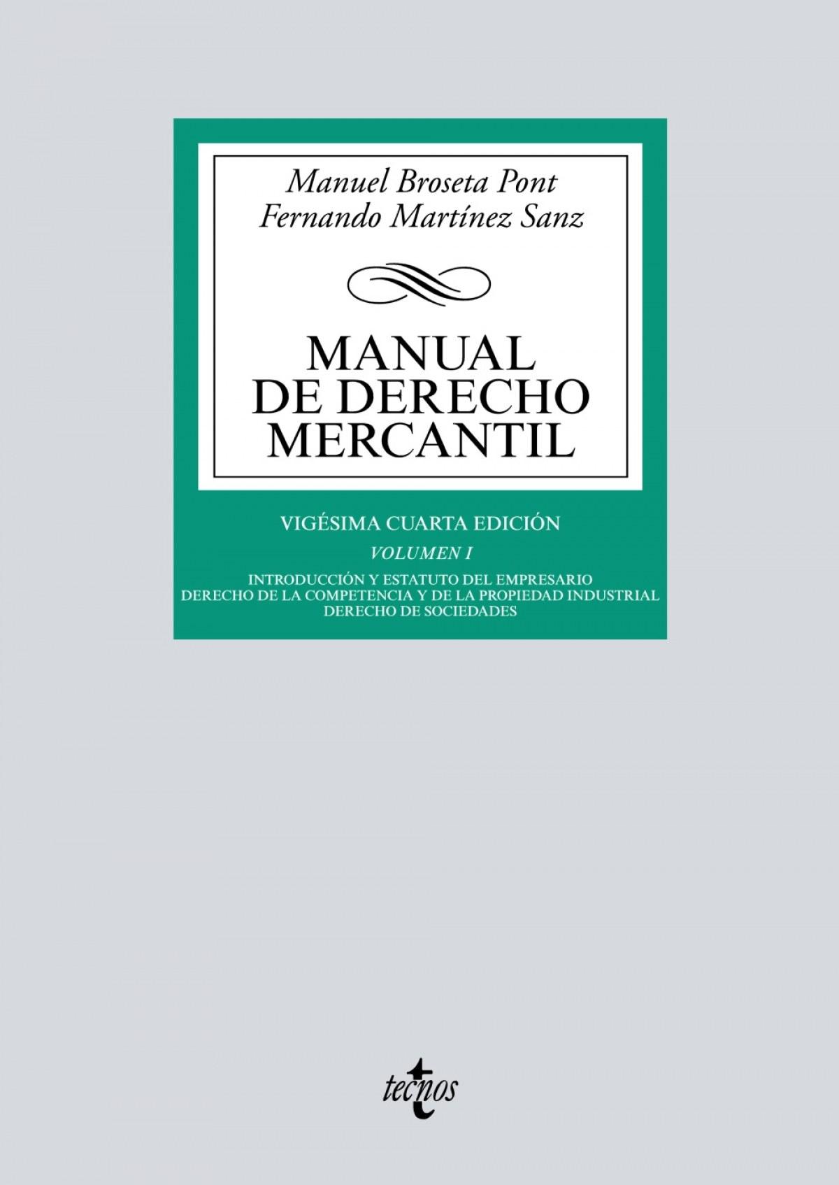 (2017).I.MANUAL DE DERECHO MERCANTIL.(BIBL.UNIVERSITARIA)