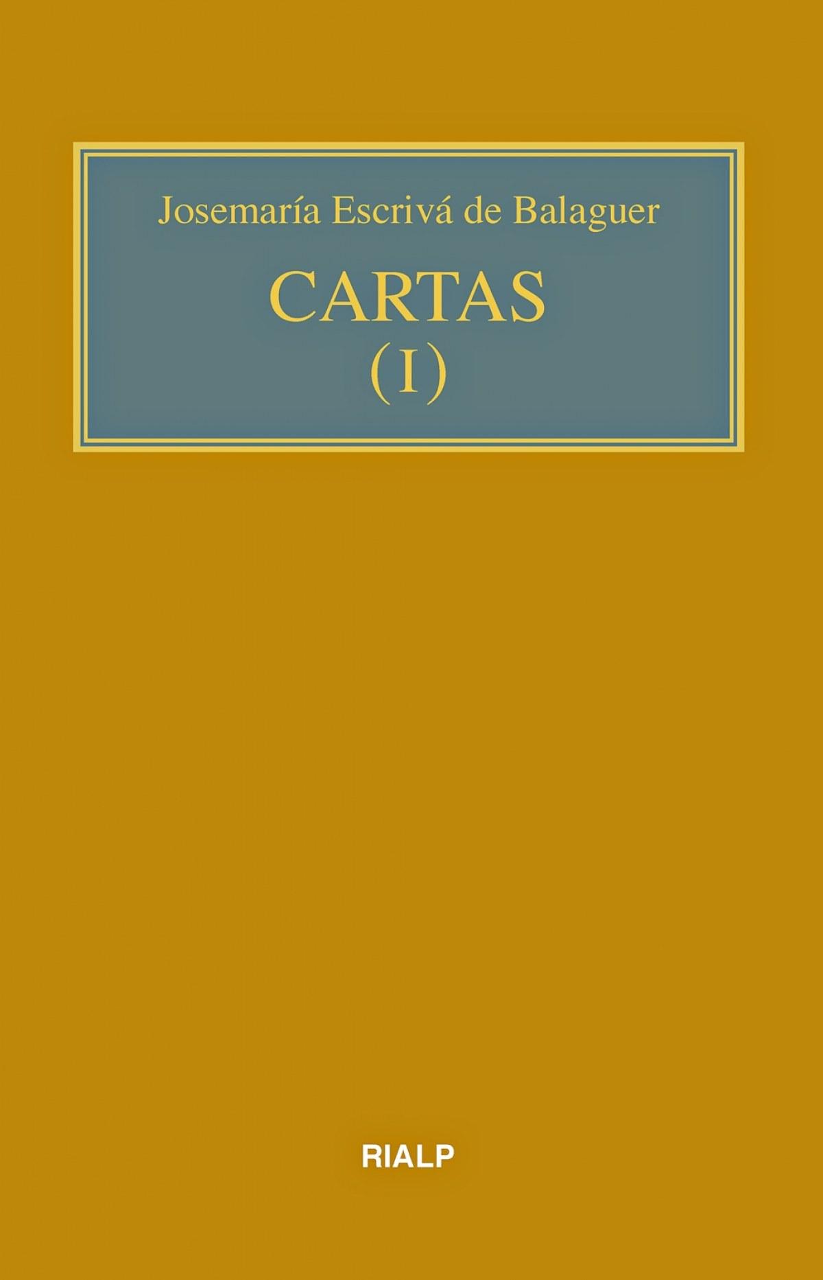 Cartas I (bolsillo, rústica)