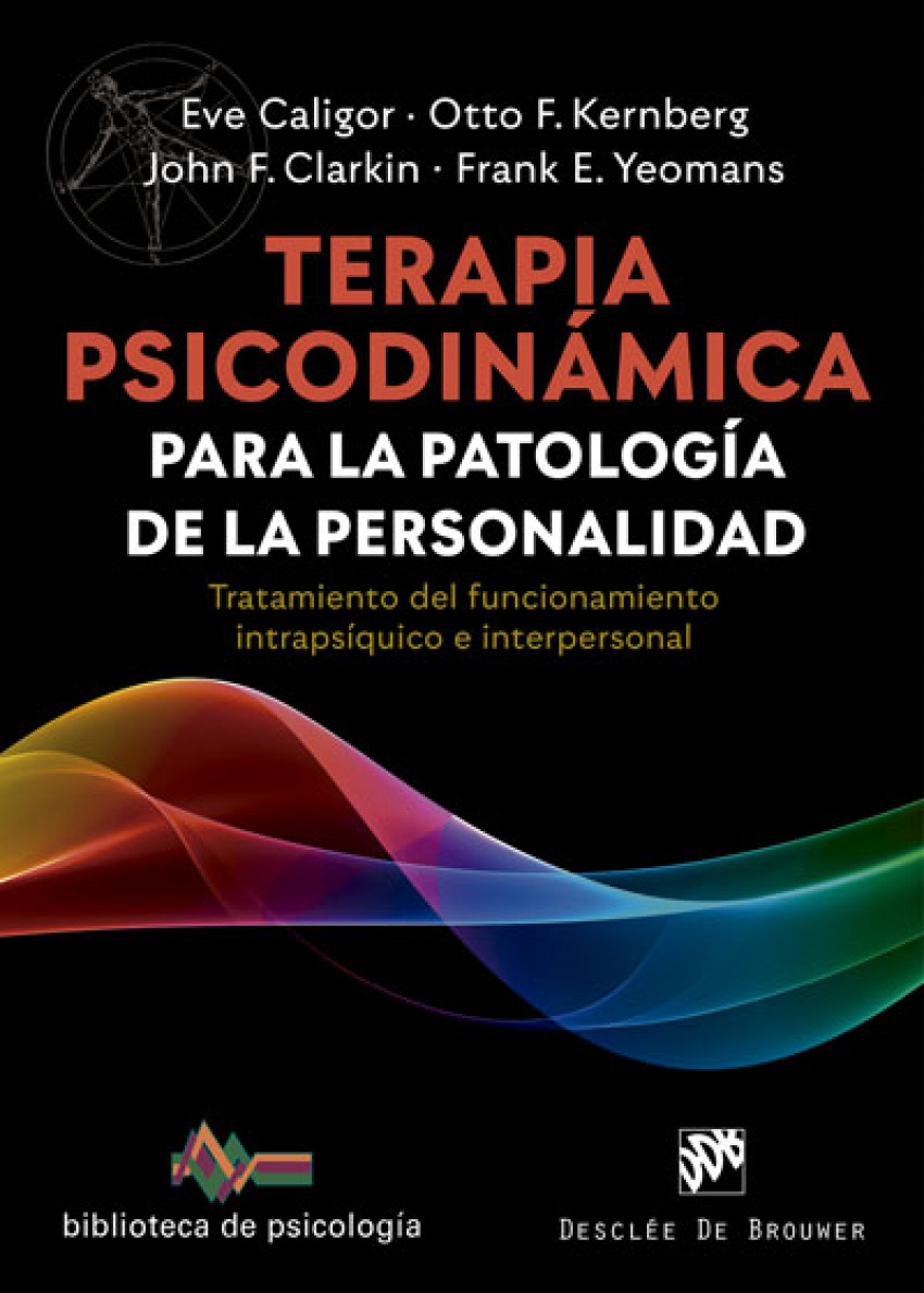 Terapia psicodinámica para la patología de la personalidad. Trata