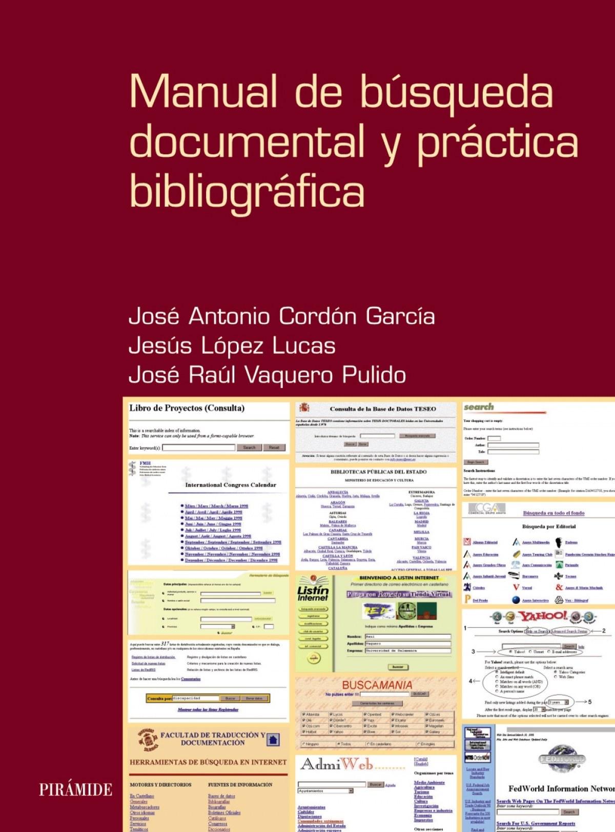 Manual de búsqueda documental y práctica bibliográfica