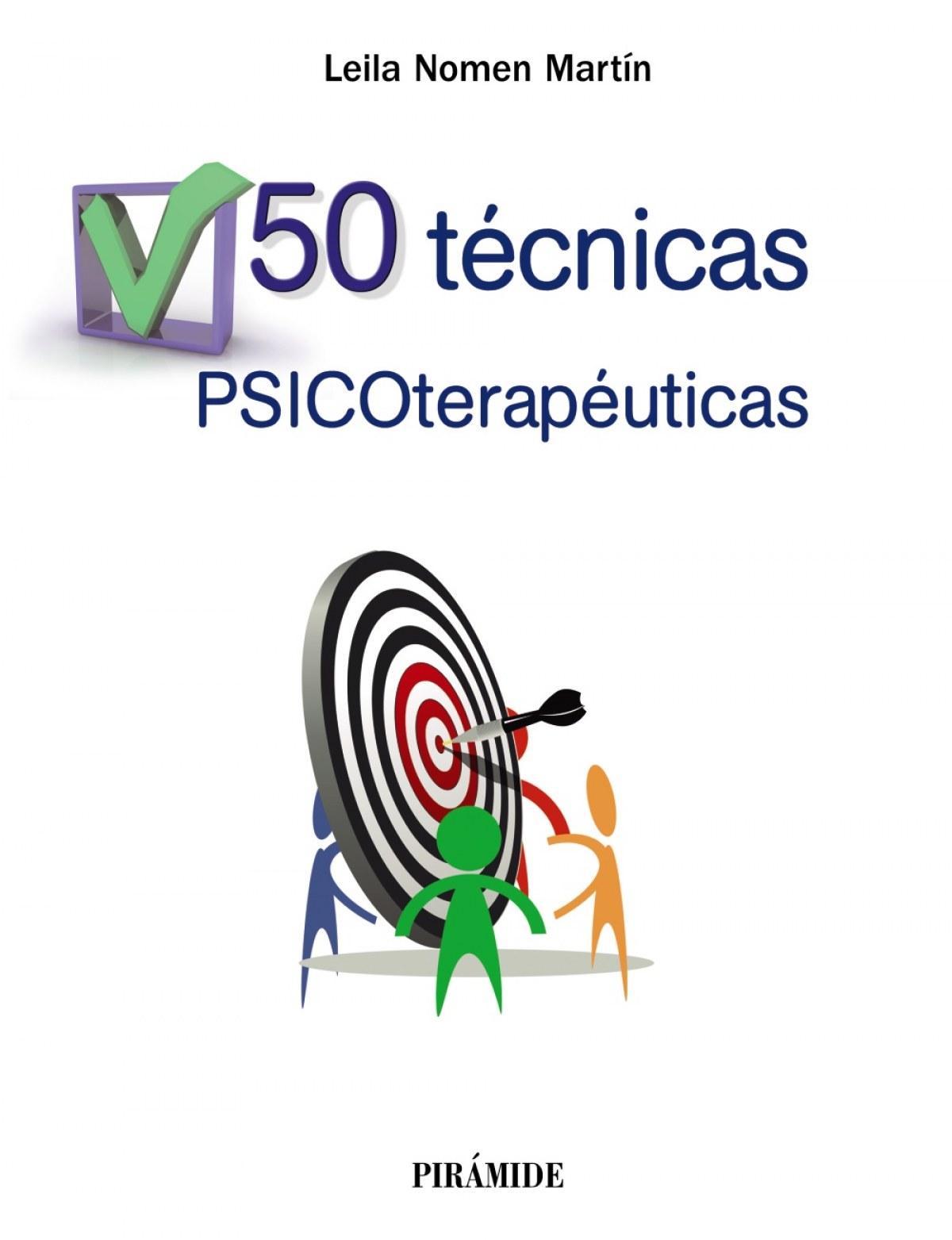 50 TÈCNICAS PSICOTERAPéUTICAS