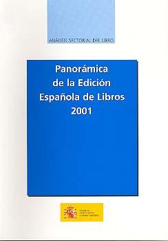 Panorámica de la edición española de libros 2001