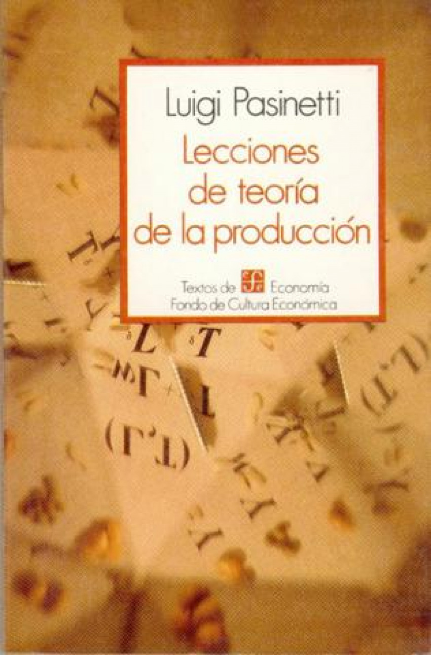 Lecciones de teoría de la producción