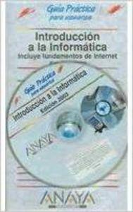 Introducción a la informática. Edición 2003