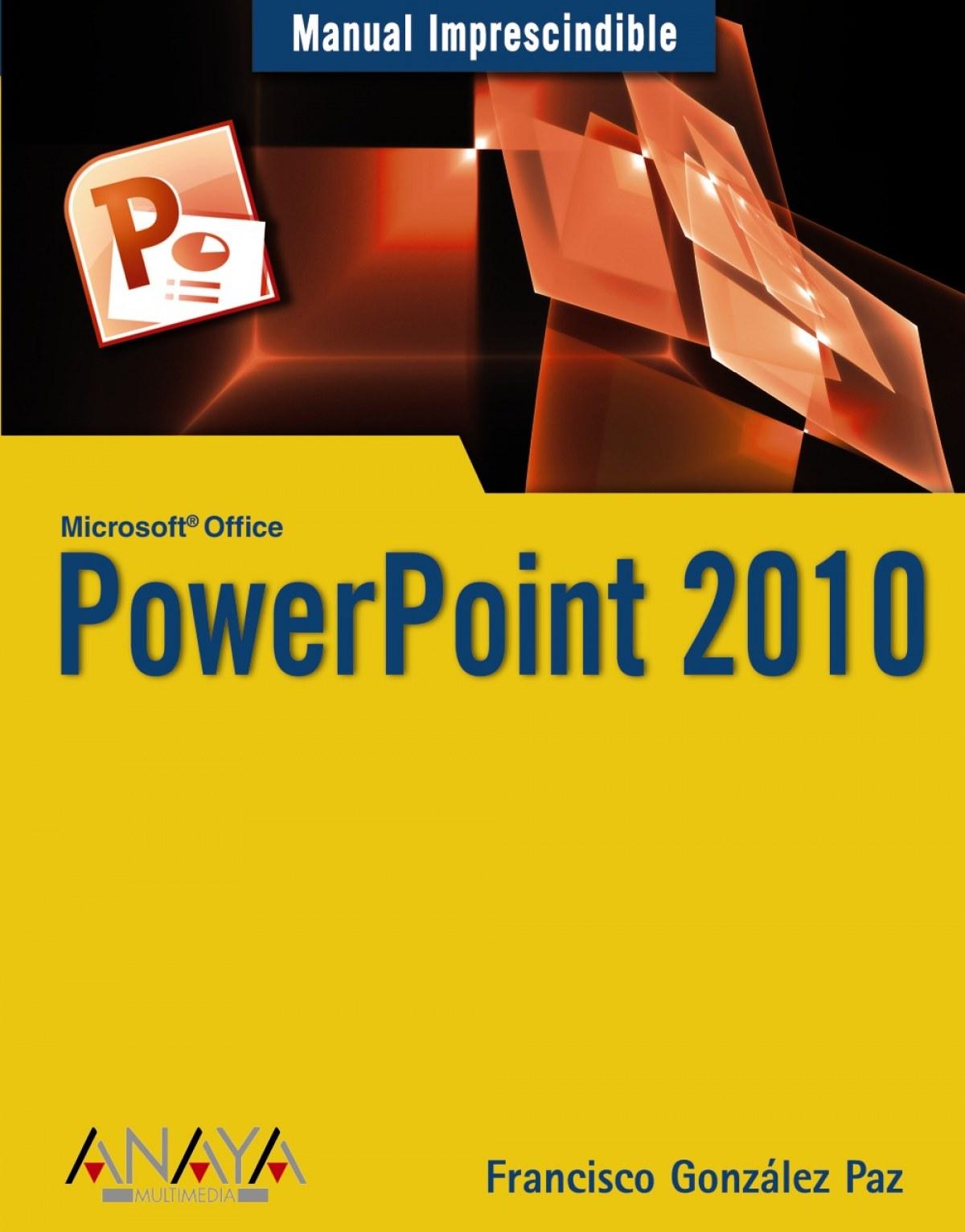 PowerPoint 2010 9788441527942
