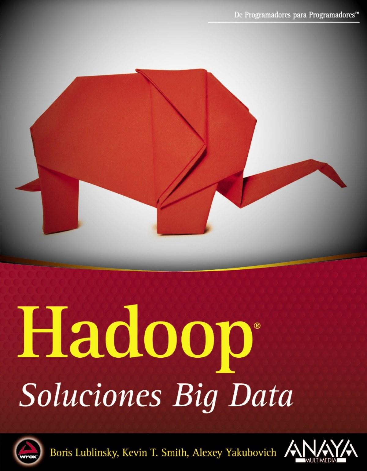 Hadoop 9788441535916