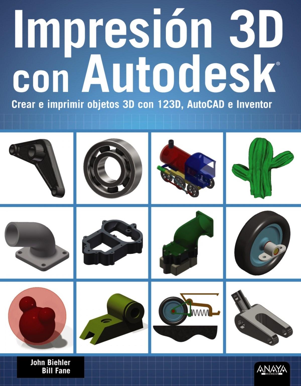 Impresión 3D con autodesk 9788441536326