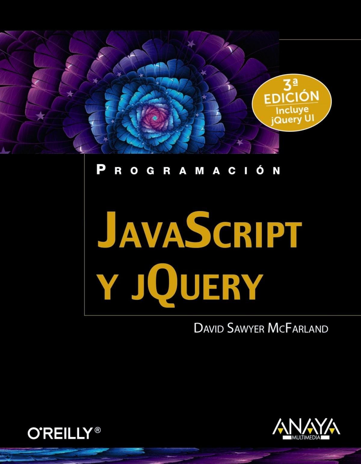 Javascript y Jquery 9788441537453