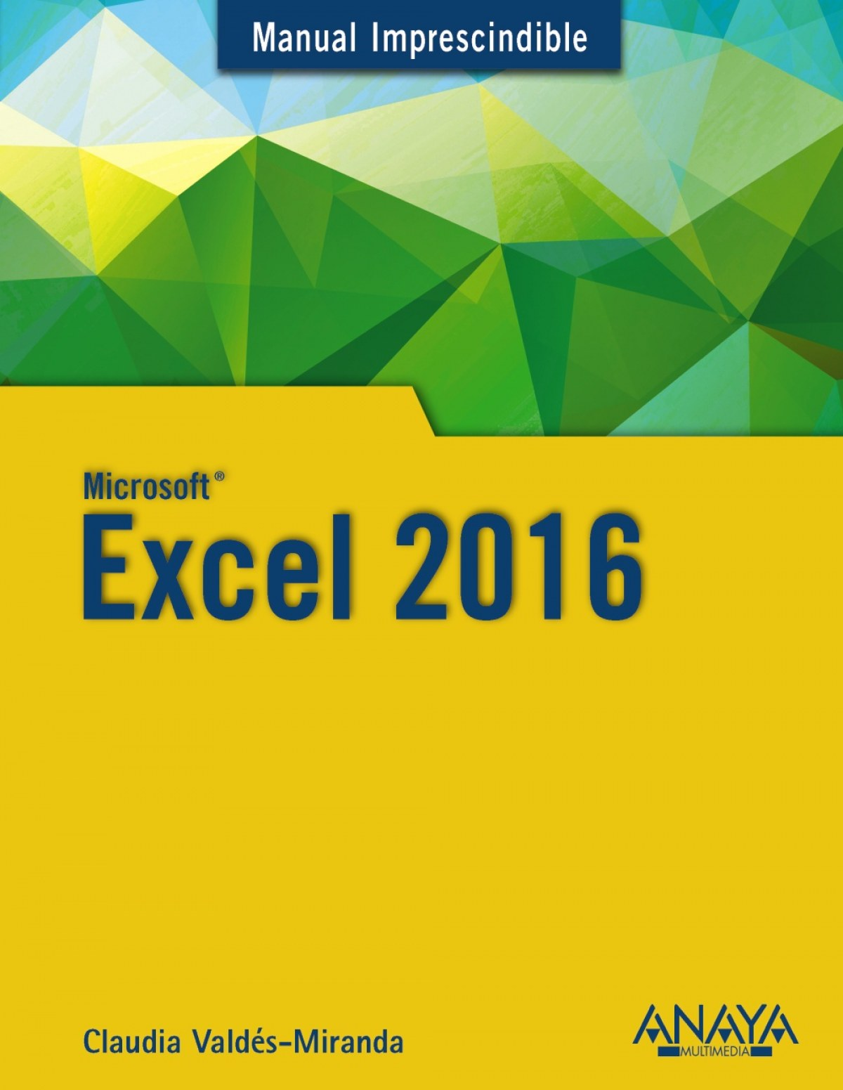 EXCEL 2016 9788441538023