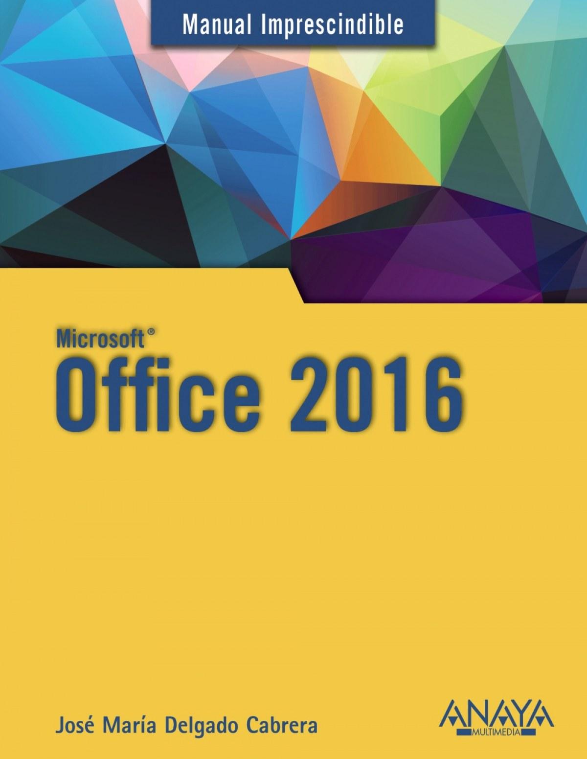 OFFICE 2016 9788441538047