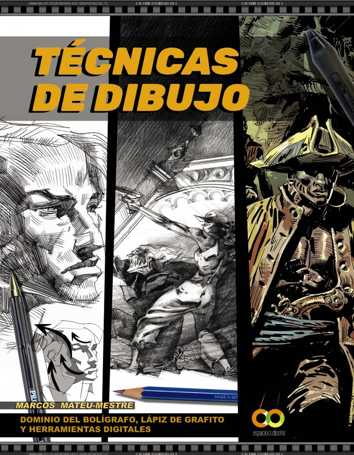 Técnicas de dibujo. Dominio del bolígrafo, lápiz de grafito y herramientas digitales