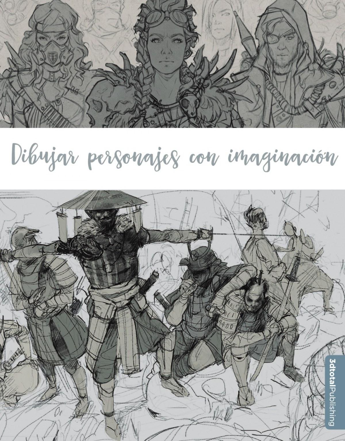 Dibujar personajes con imaginación