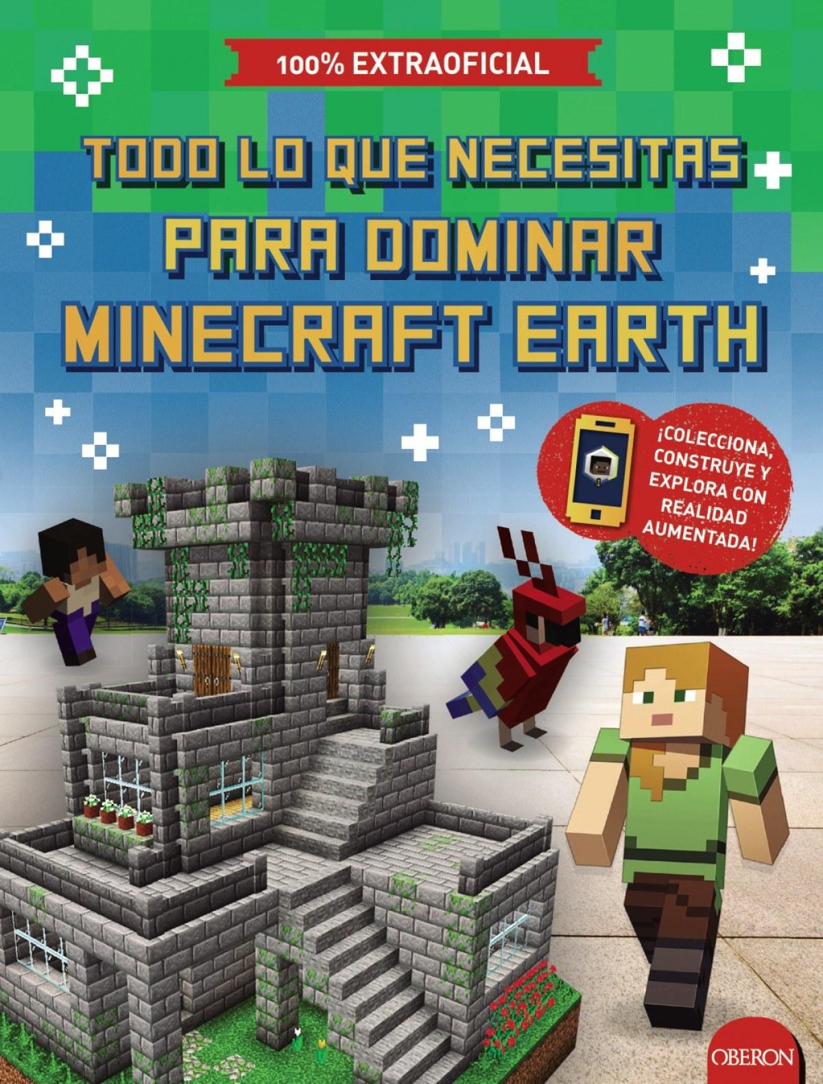Todo lo que necesitas para dominar Minecraft Earth