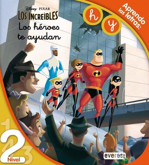 Los Increíbles. Los Héroes Te Ayudan. Lectura Nivel 2 - Tapa Blanda ... b684d782812