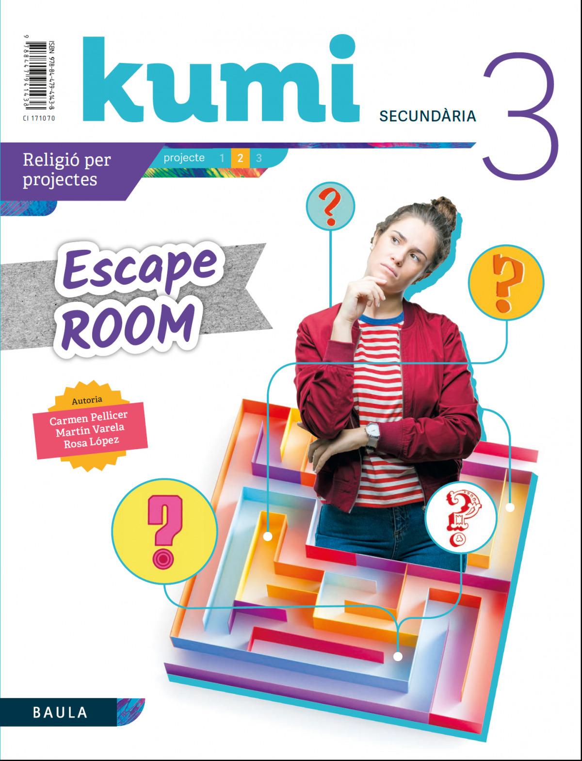 Escape room 3r ESO Projecte Kumi